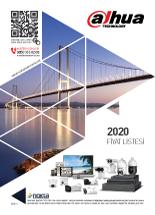 Dahua 2020 Fiyat Listesi