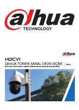 Dahua HDCVI Ürün Kataloğu 2019