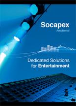 Amphenol Socapex Ses ve Işık Ürün Kataloğu 2018