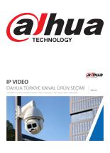 Dahua IP Ürün Kataloğu 2019